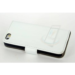 Apple iPhone 5C - iPh 5C - Silicone Business 2 Book case - White