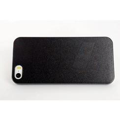 Apple iPhone 5G/SE - iPh 5G/SE - Dünn Flip coque - noir