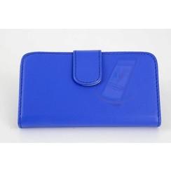 Book case voor Apple iPhone 4G-S - Blauw