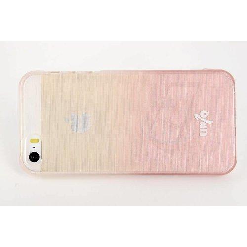 Andere merken Backcover voor Apple iPhone 5 - Grijs