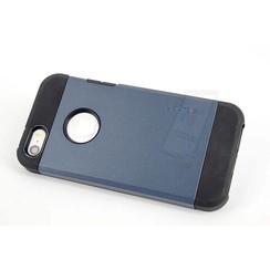 Apple iPhone 5G/SE - iPh 5G/SE - Trendy Flip coque - Bleu