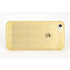 Apple iPhone 5C - iPh 5C - Creative Silicone coque - Or