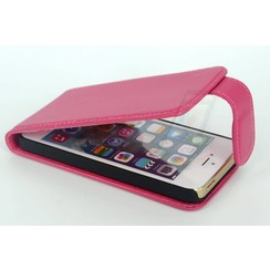 Apple iPhone 5C - iPh 5C - Long Lip Business Flip case - Pink