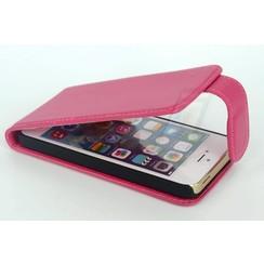 Apple iPhone 5C - iPh 5C - Long Lip Business Flip coque - rose