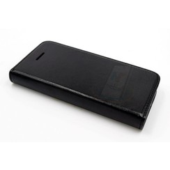 Apple iPhone 5/5s/SE Card holder Black Book type case for iPhone 5/5s/SE Magnetic closure