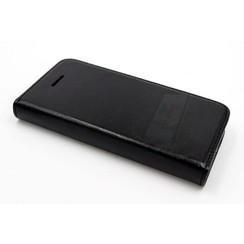 Apple iPhone 5/5s/SE Titulaire de la carte Noir Book type housse - Fermeture magnétique