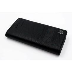 Book case voor Apple iPhone 5 - Zwart