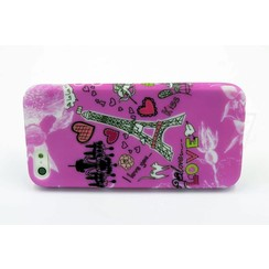 Apple iPhone 5G/S/SE - Silicone coque - Colorful (8719273225684)