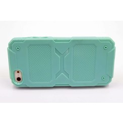 Silicone coque Green - Apple iPhone 5G/S/SE (8719273228234)