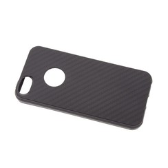 Silicone case for Apple iPhone 5G/S/SE - Black (8719273264171)