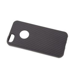 TPU Coque pour Apple iPhone 5G/S/SE - Noir (8719273264171)