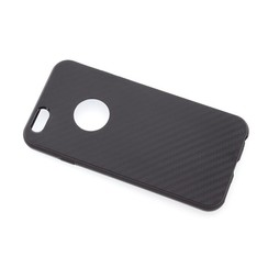 Silicone case for Apple iPhone 6/6S - Black