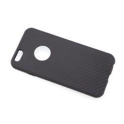 TPU Coque pour Apple iPhone 6/6S - Noir