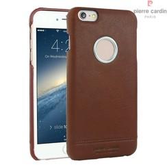 Pierre Cardin Backcover voor Apple iPhone 6 Plus - Rood