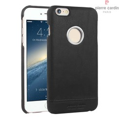 Pierre Cardin Backcover voor Apple iPhone 6 Plus - Zwart