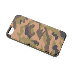 TPU Coque pour Apple iPhone 5G/S/SE - Camouflage (8719273236628)