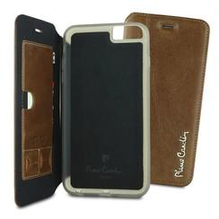 Pierre Cardin Book case voor Apple iPhone 6 Plus - Bruin