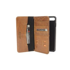 Pierre Cardin Apple iPhone 7/8 Plus Book case - Brown (8719273232040)