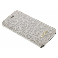 Book case Croco iPhone 7/8 Plus Grey (3700740386866)