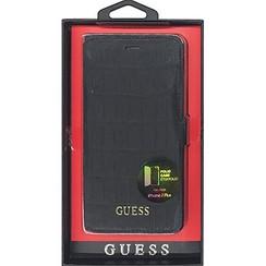 Guess Housse pour Apple iPhone 7/8 Plus - Noir (3700740388761)