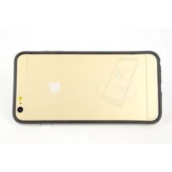 Apple iPhone 6/6S + - iPh 6/6S + - Bumpers Flip coque - noir