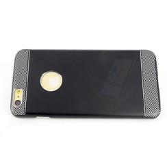 Apple iPhone 6/6S + - iPh 6/6S + - Hallsen Flip coque - noir