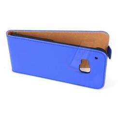 HTC One M9 - M9 - Business Flip case - Blue