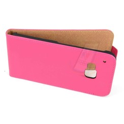 HTC One M9 - M9 - Business Flip case - Pink
