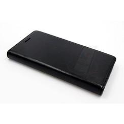 Huawei  P8 Titulaire de la carte Noir Book type housse - Fermeture magnétique