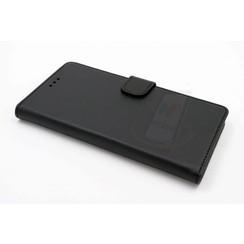 Huawei  P9 Titulaire de la carte Noir Book type housse - Fermeture magnétique