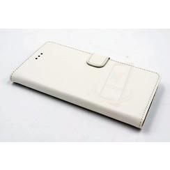 Huawei  P9 Titulaire de la carte Blanc Book type housse - Fermeture magnétique