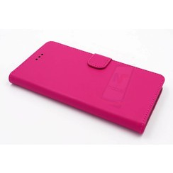 Huawei  P9 Card holder Pink Book type case for  P9 Magnetic closure