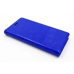 Huawei  P9 Card holder Blue Book type case for  P9 Magnetic closure