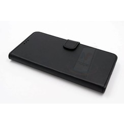 HTC One X9 Pasjeshouder Zwart Booktype hoesje - Magneetsluiting - Kunststof;TPU
