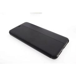 Huawei  P10 Plus Pasjeshouder Zwart Booktype hoesje - Magneetsluiting - Kunststof;TPU