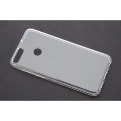 silicone case for P Smart - Transparent (8719273268476)
