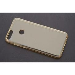 TPU Coque pour P Smart - Transparent (8719273268490)