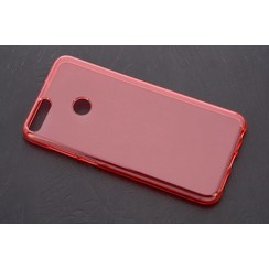 silicone case for P Smart - Transparent (8719273268513)