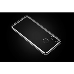 Silicone case for Huawei Honor Play - Transparent (8719273277386)