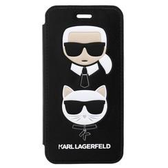 Karl Lagerfeld Housse pour iPhone 8 - Noir (3700740419076)