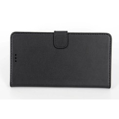 Nokia N Serie Card holder Black Book type case for N Serie Magnetic closure