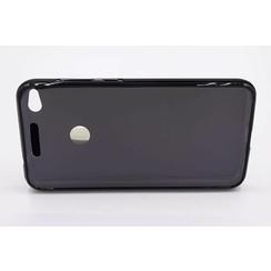 Silicone coque noir pour Huawei Ascend P8 Lite 2017 (8719273237168)