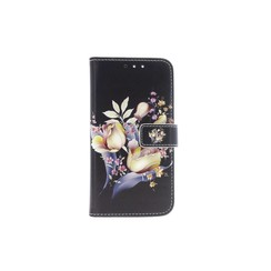 Huawei  P10 Card holder Print Book type case for  P10 Magnetic closure