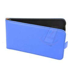 Nokia N Serie Pasjeshouder Blauw Booktype hoesje - Magneetsluiting - Kunststof;TPU