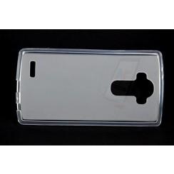 LG Optimus G4 - H811 - Matt Backcover Silicone coque - Clear