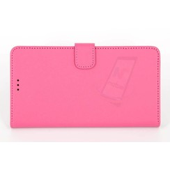 Microsoft Lumia 640 XL - N640 XL - Silicone Business Book case - Pink