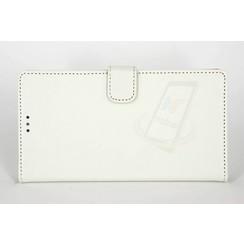 Microsoft Lumia 950 XL - N950 XL - Silicone Business Book case - White