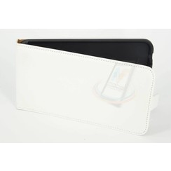 Nokia N Serie Card holder White Book type case for N Serie Magnetic closure