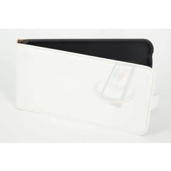Nokia N Serie Pasjeshouder Wit Booktype hoesje - Magneetsluiting - Kunststof;TPU