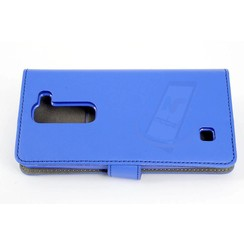 LG Optimus G4 Titulaire de la carte Bleu Book type housse - Fermeture magnétique
